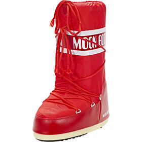 Moon Boot Nylon Boots, red
